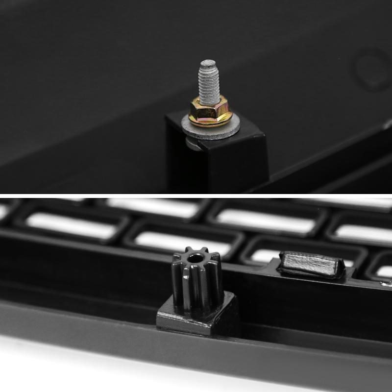 GRILLE- MATTE BLACK RAPTOR STYLE, F150 09-14