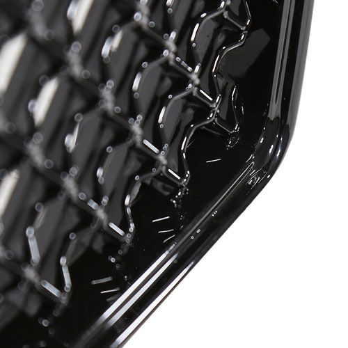 MESH GRILLE GLOSSY BLACK, F150 09-14