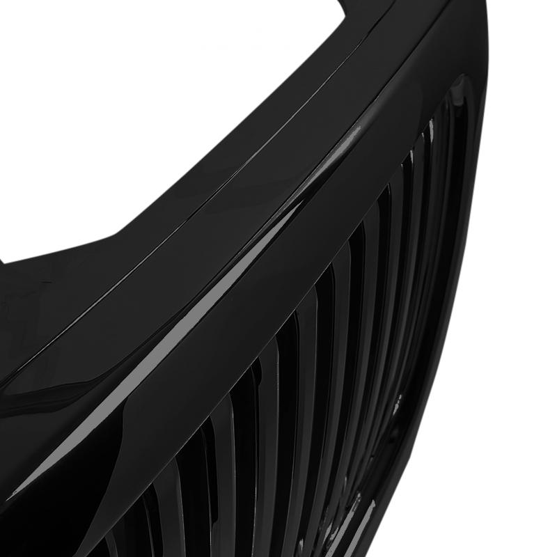 VERTICAL GRILL BLACK, F150 99-03