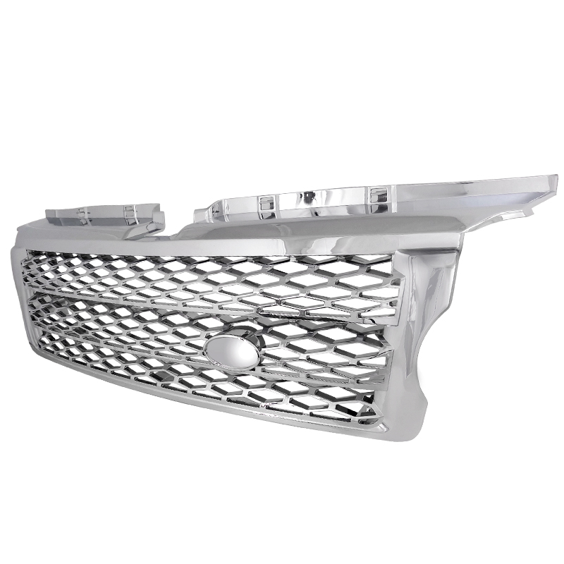 FRONT GRILLE SUPERCHARGED LOOK CHROME, Range Rover L320 06-08