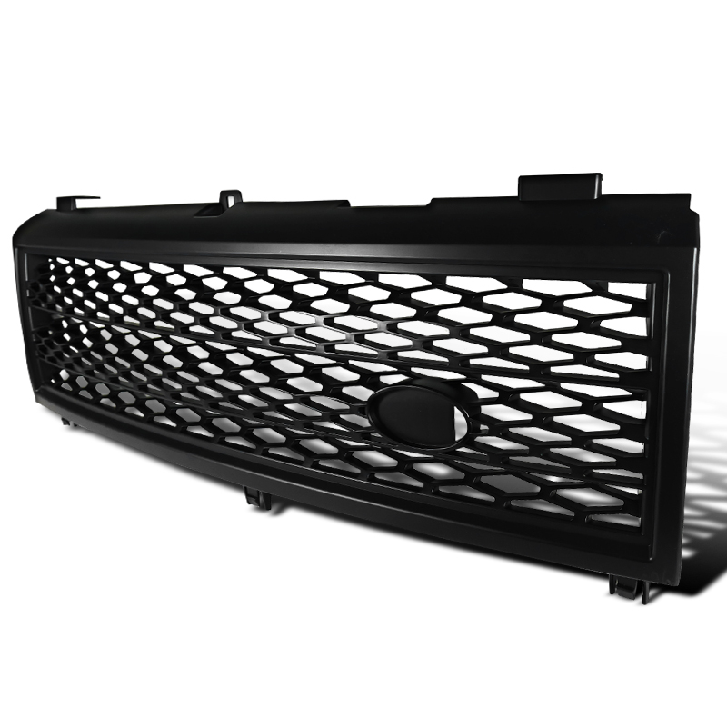 SUPERCHARGE SYLE FRONT GRILL BLACK, Range Rover L322 03-05