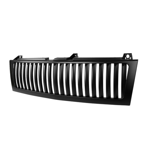 VERTICAL FACELIFT CONVERSION GRILL - BLACK (ONLY FITS WITH SPEC-D 1PC STYLE HEADLIGHT ONLY, DOES NOT FIT STOCK HEADLIGHTS), Silverado 99-02