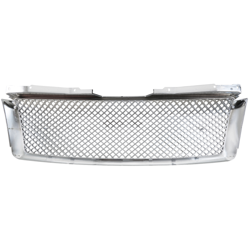 FRONT MESH GRILLE- CHROME, Tahoe 07-14 - ALSO FITS SUBURBAN & AVALANCHE