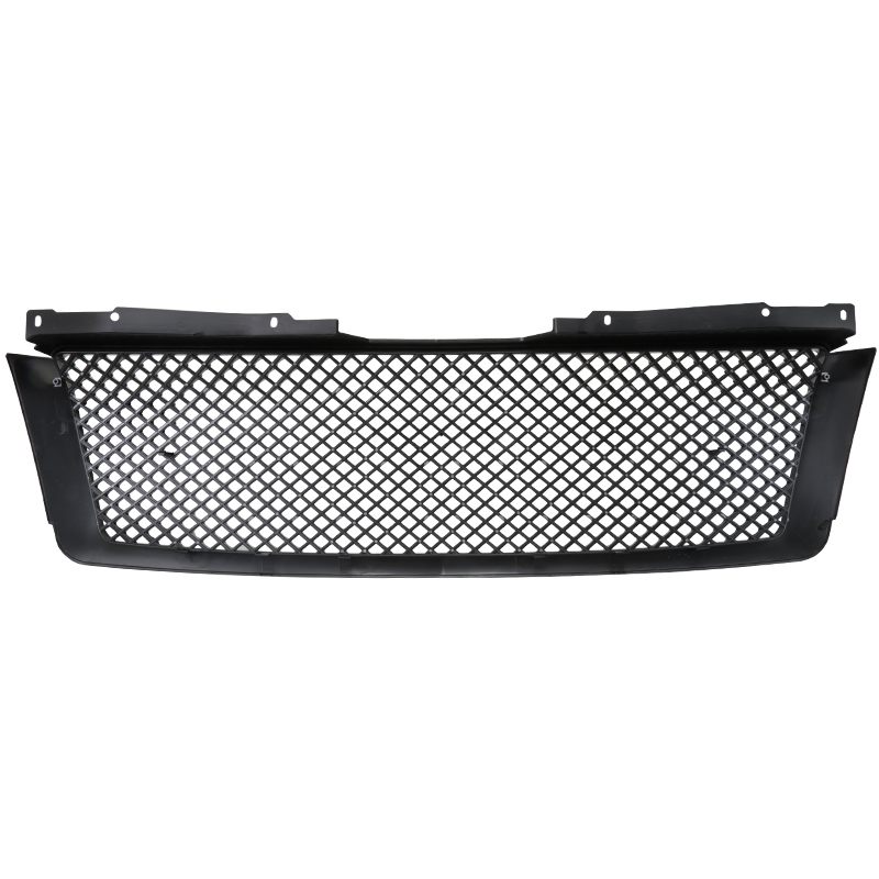 FRONT MESH GRILLE- GLOSSY BLACK, Tahoe 07-14 - ALSO FITS SUBURBAN & AVALANCHE