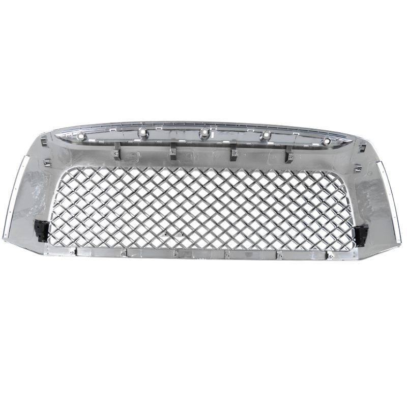 FRONT MESH GRILLE- CHROME, Tundra 07-09