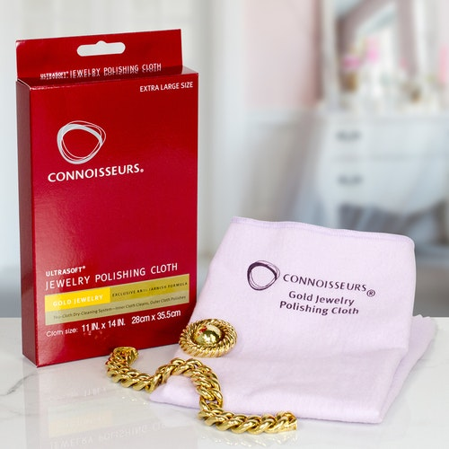 Connoisseurs - Gold Polishing Cloth