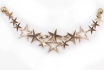 Hårsmycke Constellation Crown Gold - KELA
