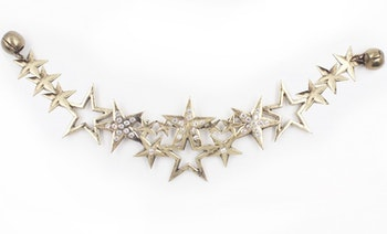 Hårsmycke Constellation Crown Mässing - KELA