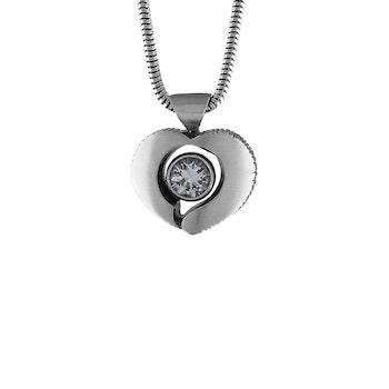 Finnfeelings Halsband Hjärtformad