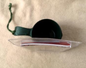 Plastic pocket/platsficka