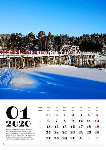 Wall calendar 2020 / Väggkalender 2020