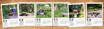 Pilgrim Wall calendar 2021 / Väggkalender pilgrim 2021