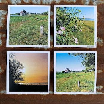 5 Postcards/ vykort 5-pack