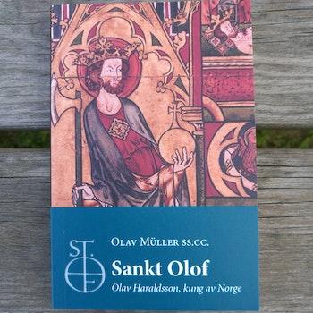 Boken Sankt Olof/ book about St. Olav (in Swedish)