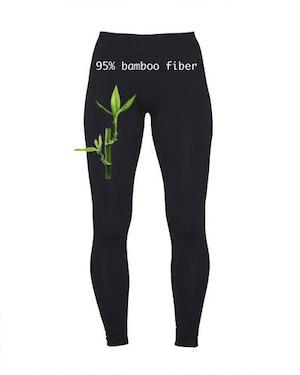 Leggings/långkalsong Dam Bambu