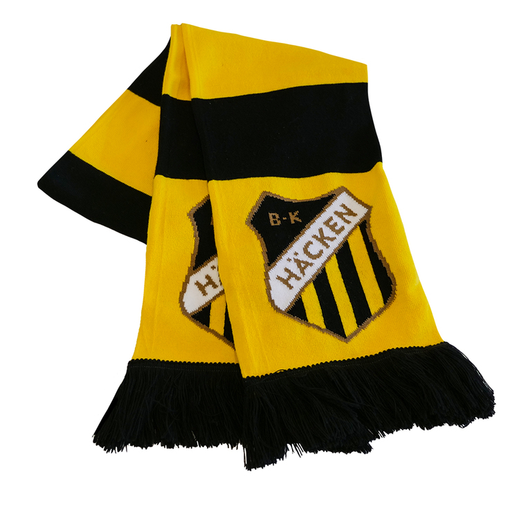 Halsduk med stort emblem