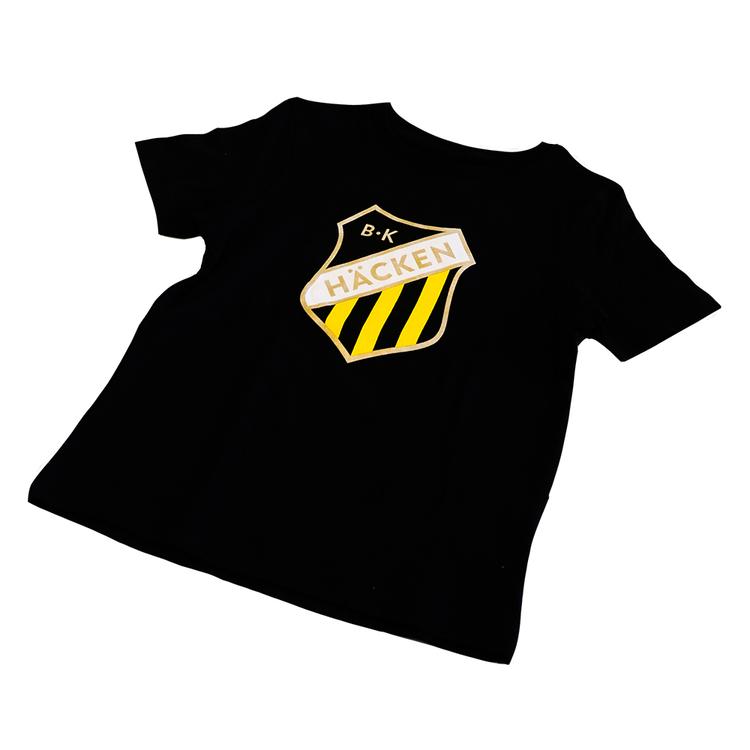 T-shirt Svart med emblem