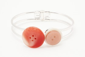 Orange knappar, armband