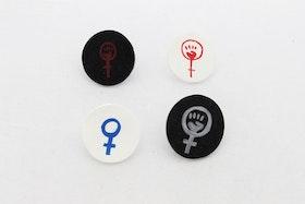 Feminist, örstickare