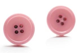 Rosa knappar, manschettknappar