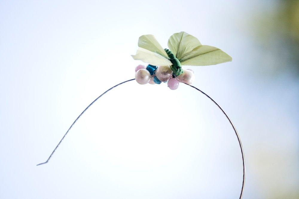 Fjäril, diadem