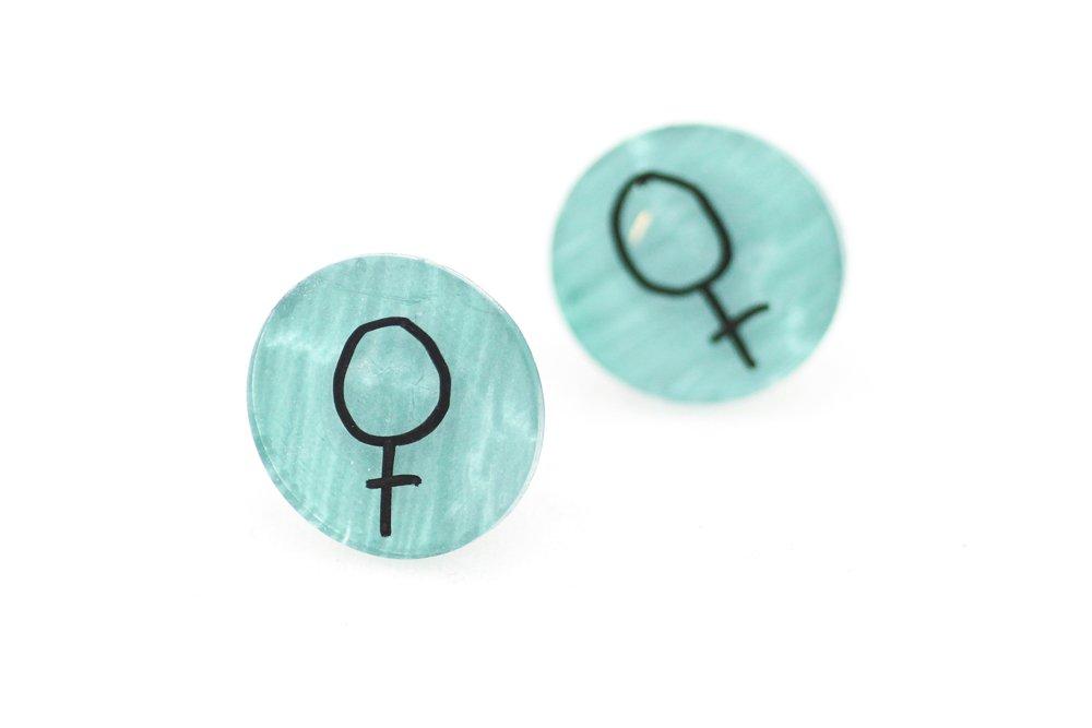 Gröna örstickare, feminist