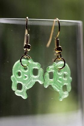 Gröna döskallar, örhängen