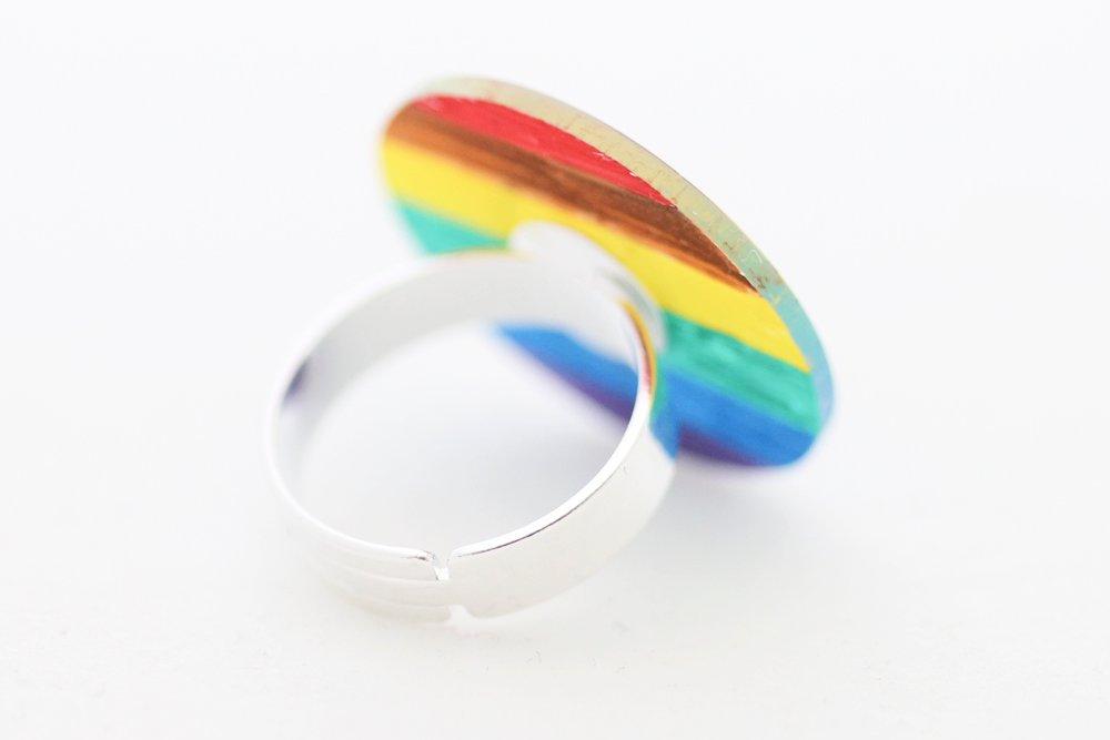 Regnbågsfärgad ring, feminist