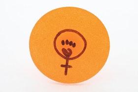 Orange ring, feminist