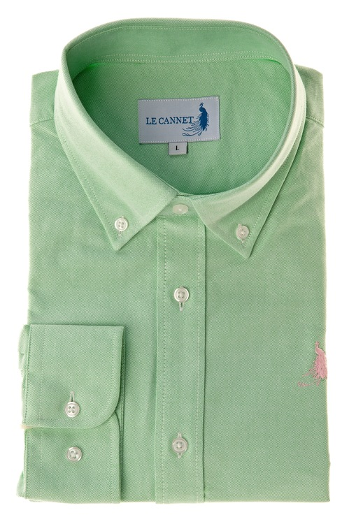 Oxford shirt  - Green Le Cannet