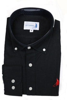 Oxford shirt  - Black Le Cannet