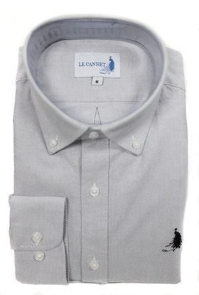 Oxford shirt  - Grey Le Cannet