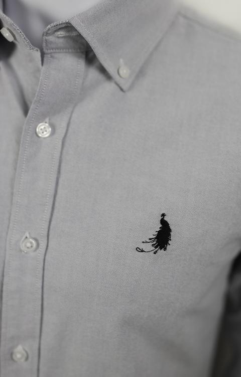 Herrskjortor, fransk, inspiration, svensk design, kvalité, grå