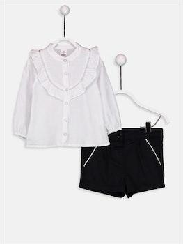 Skjorta med shorts