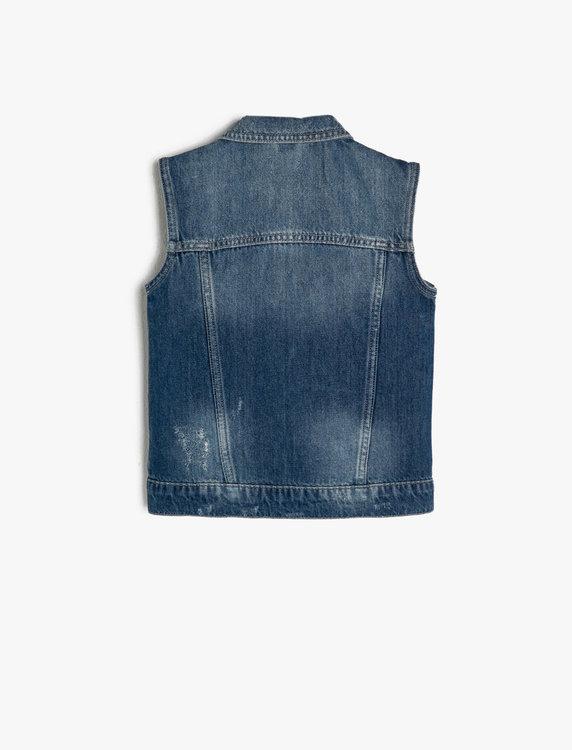 Jeansväst