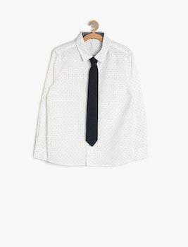 Skjorta med slips