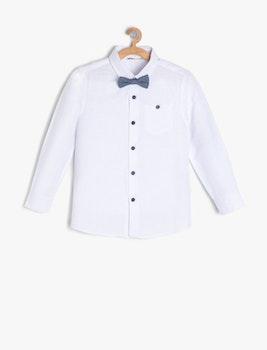 Skjorta med fluga