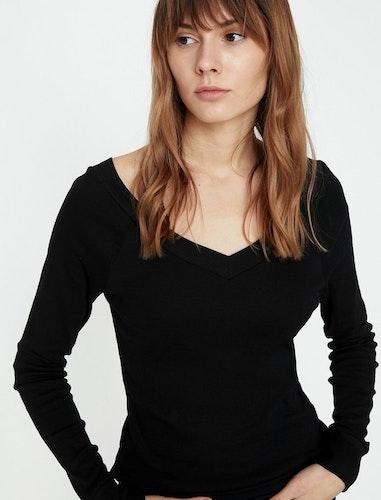 V-ringad tröja