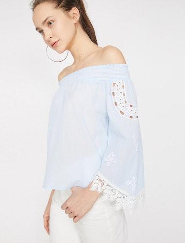 Off shoulder-topp
