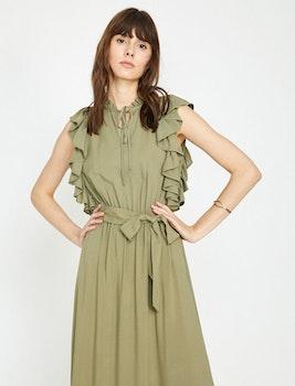 Omlottklänning med knytband