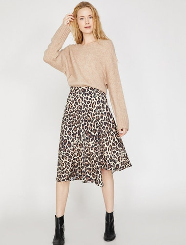 Vadlång kjol