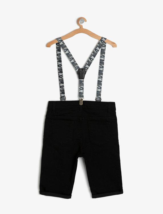 shorts med hängslen