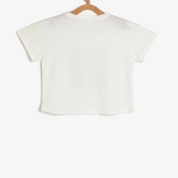 T-shirt med vändbara paljetter