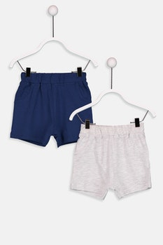2-pack shorts i bomull