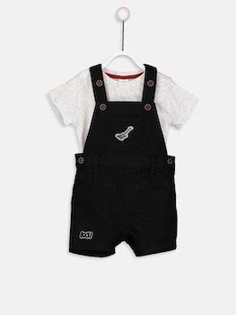 Baby Boy Salopet Och T-Shirt