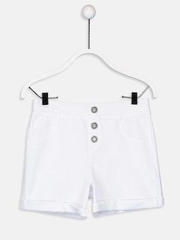 Flickors Stickade Shorts