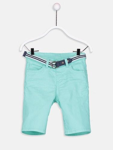 Shorts med bälte