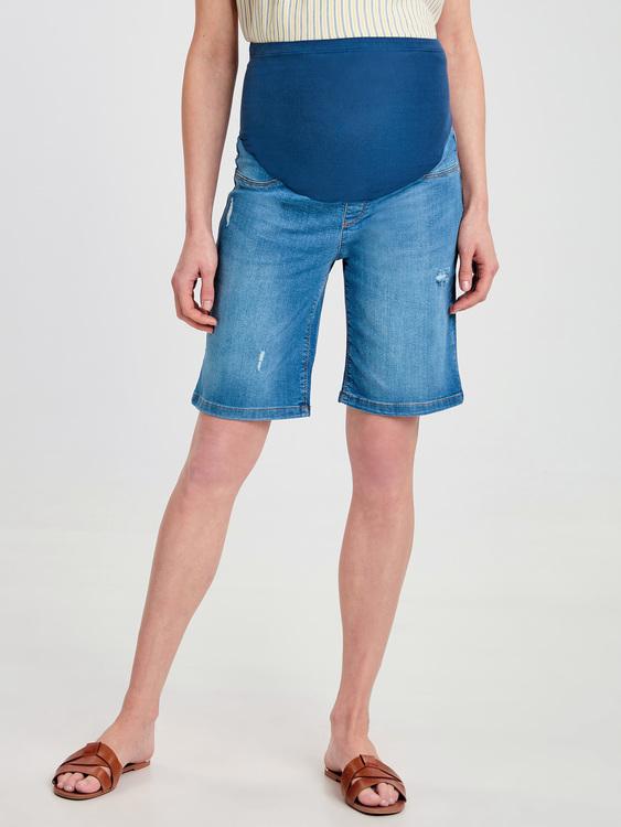 MAMA Jeansshorts