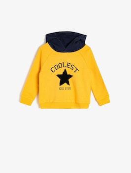 Sweatshirt med luva