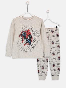 Pyjamas med Spiderman tryck